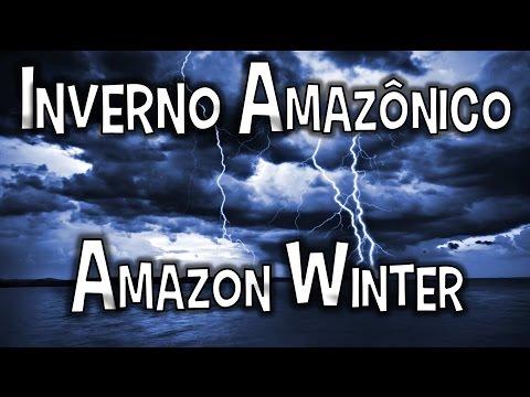 As Duas Estações Amazônicas INVERNO  Amazon Seasons WINTER - Storm Sound - Classical  Concert