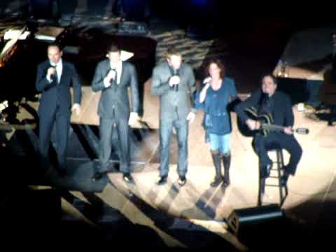 David Foster and The Four Canadian Tenors with a Surprise Guest !