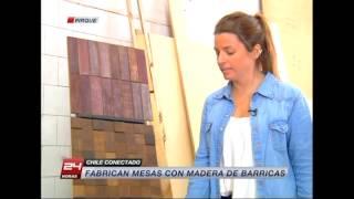 Chile Conectado: La fabricación con madera de barricas