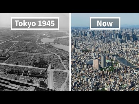 Incredible Before And After Pictures Of Famous Cities