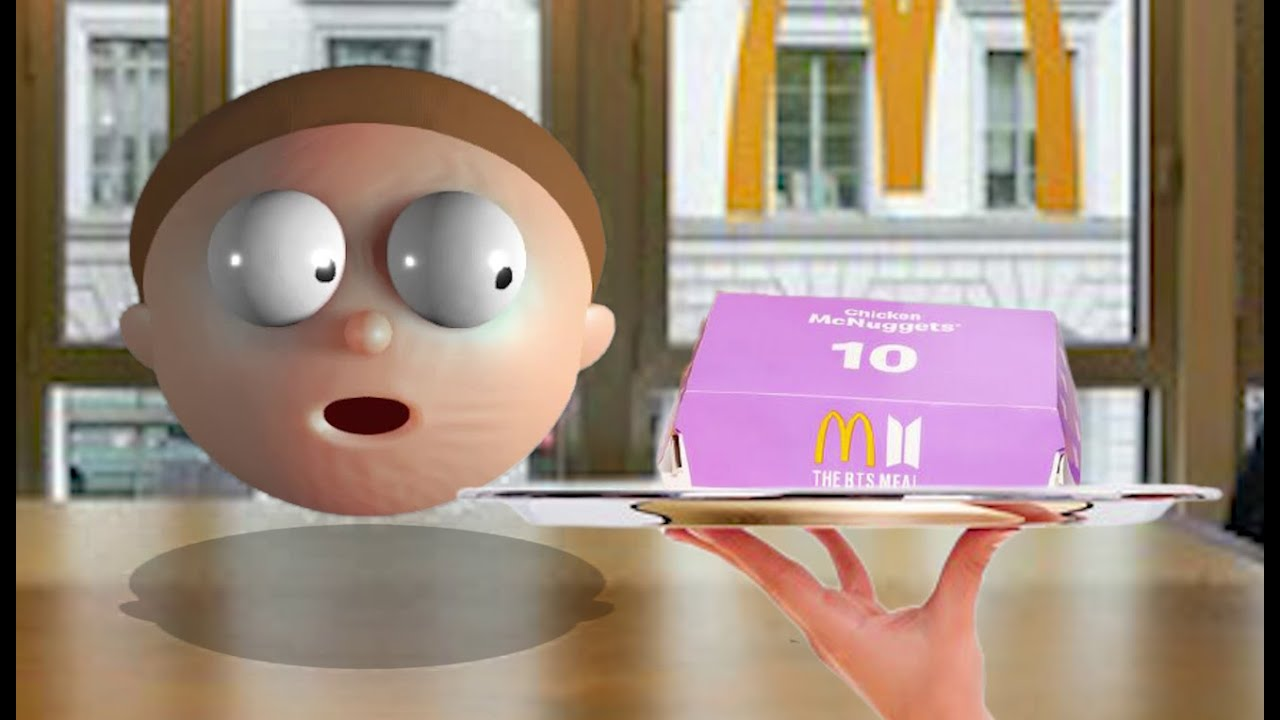 Morty Nyobain BTS Meal...