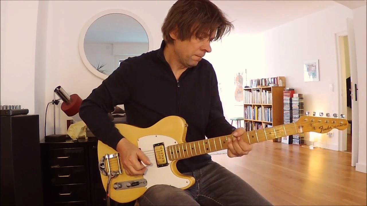 1972 Fender Telecaster (w/ Gibson embossed neck humbucker), Part2