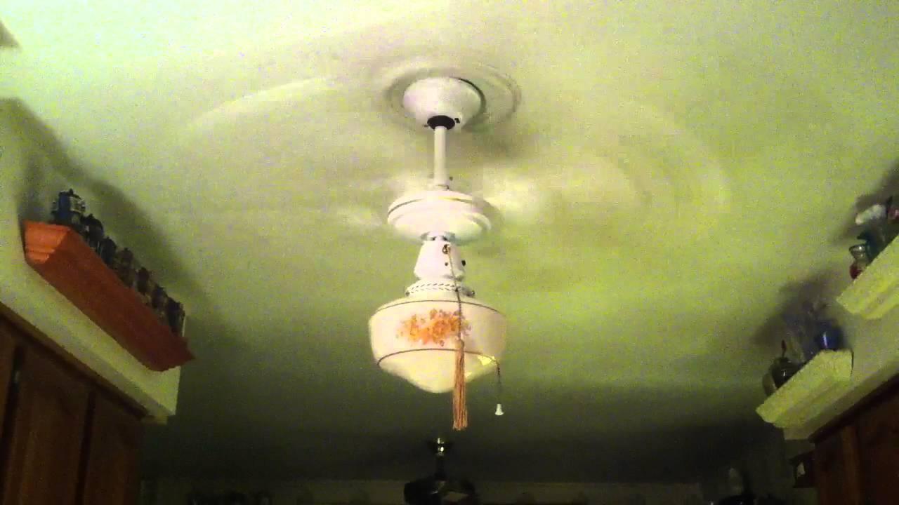 """1990 CEC Georgian 303D 36"""" Ceiling Fan - YouTube"""