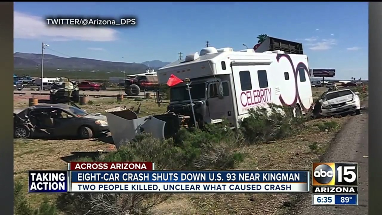 Deadly crash closes US 93 near Kingman