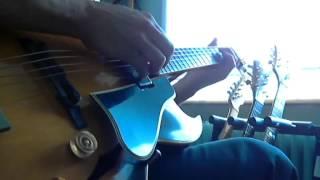 All blues  (Miles Davis) jazz guitar