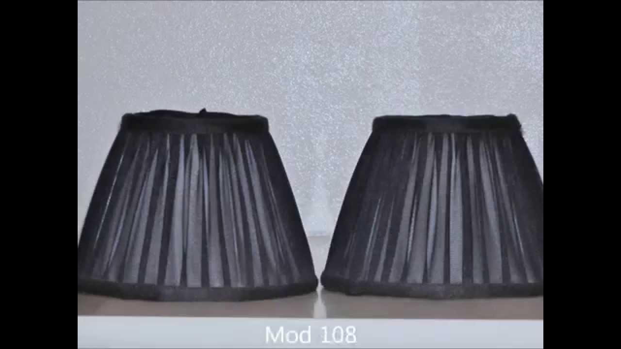 Lampadari Di Carta On Line : Cappellini per lampadari paralumi e lumi youtube