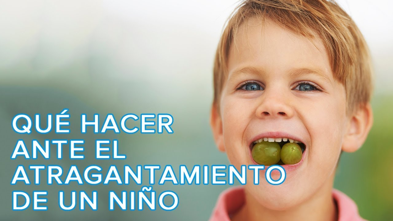 Cómo actuar ante el atragantamiento de un niño | Maniobra de Heimlich en niños