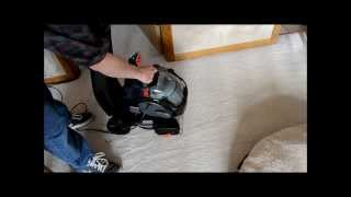 bissell lift off deep carpet cleaner product review