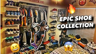 INSANE SHOE COLLECTION?Who has…