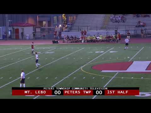 Peters Township High School Boys Soccer vs. Mt. Lebanon - September 6, 2018
