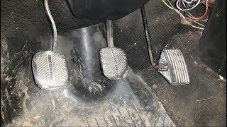 ремонт педали газа ВАЗ классика. Как снять педаль газа