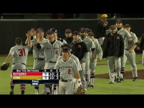 Rutgers at Iowa - Baseball Highlights