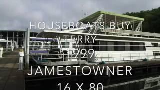 Houseboat for Sale 1999 Jamestowner 16 x 80