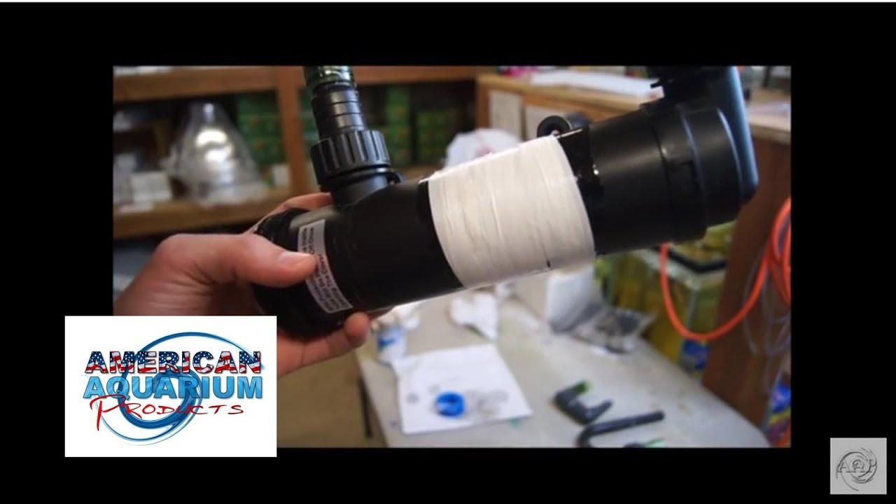 Leaking aquarium filter part repair fix teflon tape pvc for How to fix a leaking fish tank