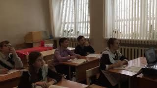 IMG 0153TrimФрагмент урока  в 7 классе по русскому языку по теме «Наречие», учитель: Чекашкина С. В.