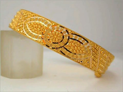 lightweight gold bangles collection latest south indian