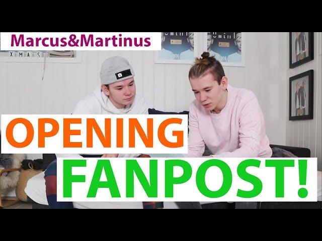 Marcus&Martinus – Opening fanpost 2020 version!