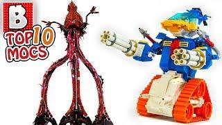 LEGO Donald Duck Tank vs. Alien Tripods! | TOP 10 MOCs of the Week