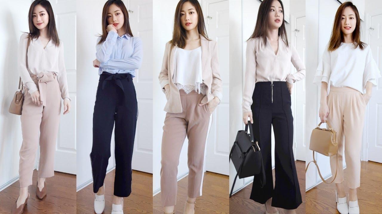 OFFICE LOOKBOOK – Business Casual Outfit Ideas (Petite Girl) 一週辦公室上班穿搭 | It's Jcnana 的小個子穿搭