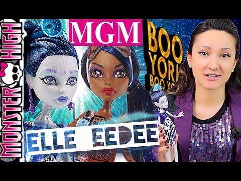 Эль Иди Бу Йорк Elle Eedee Boo York Monster High обзор на русском ★MGM★