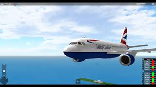 ROBLOX | A319 Island hopping flight | BAW 1372