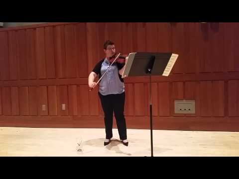 Violin Soloist at The Curtis Institute,  Phila, PA