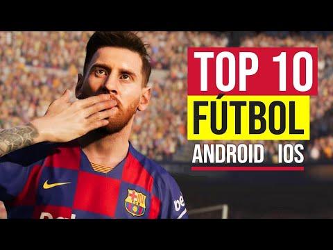 🥇 TOP 10 MEJORES JUEGOS DE FÚTBOL ⚽️ PARA ANDROID Y IOS 🎈 ONLINE Y OFFLINE 👉 TÚ ELIGES EL MEJOR!