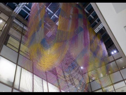 Public Art Six-Channel Video Piece Meditates on 21st Century