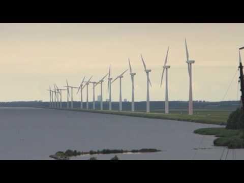 Modern Dutch Windmills