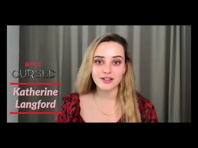 Katherine Langford Talks Cursed | TV Insider