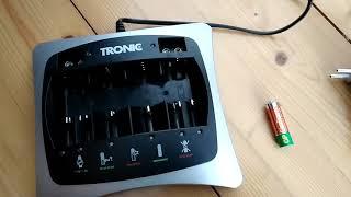 TRONIC nabíječka baterií z Lidl u/ lifehack pro lepší nabíjení.