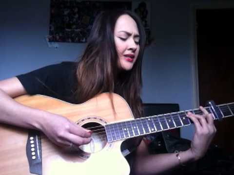 Taro by Alt-J (∆) guitar live acoustic vocal cover (by Tina V)