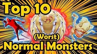 Top 10 Worst Normal Monsters in YuGiOh