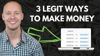How to Make Money Online from Home (3 Legit Methods for 2020)