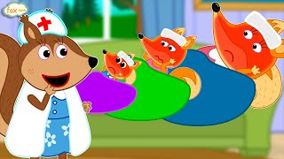 Fox Family Сartoon for kids #502
