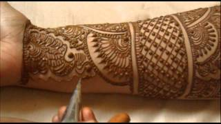 Full Hand Indian Mehndi Design:How To Do Bridal Henna Mehendi Art
