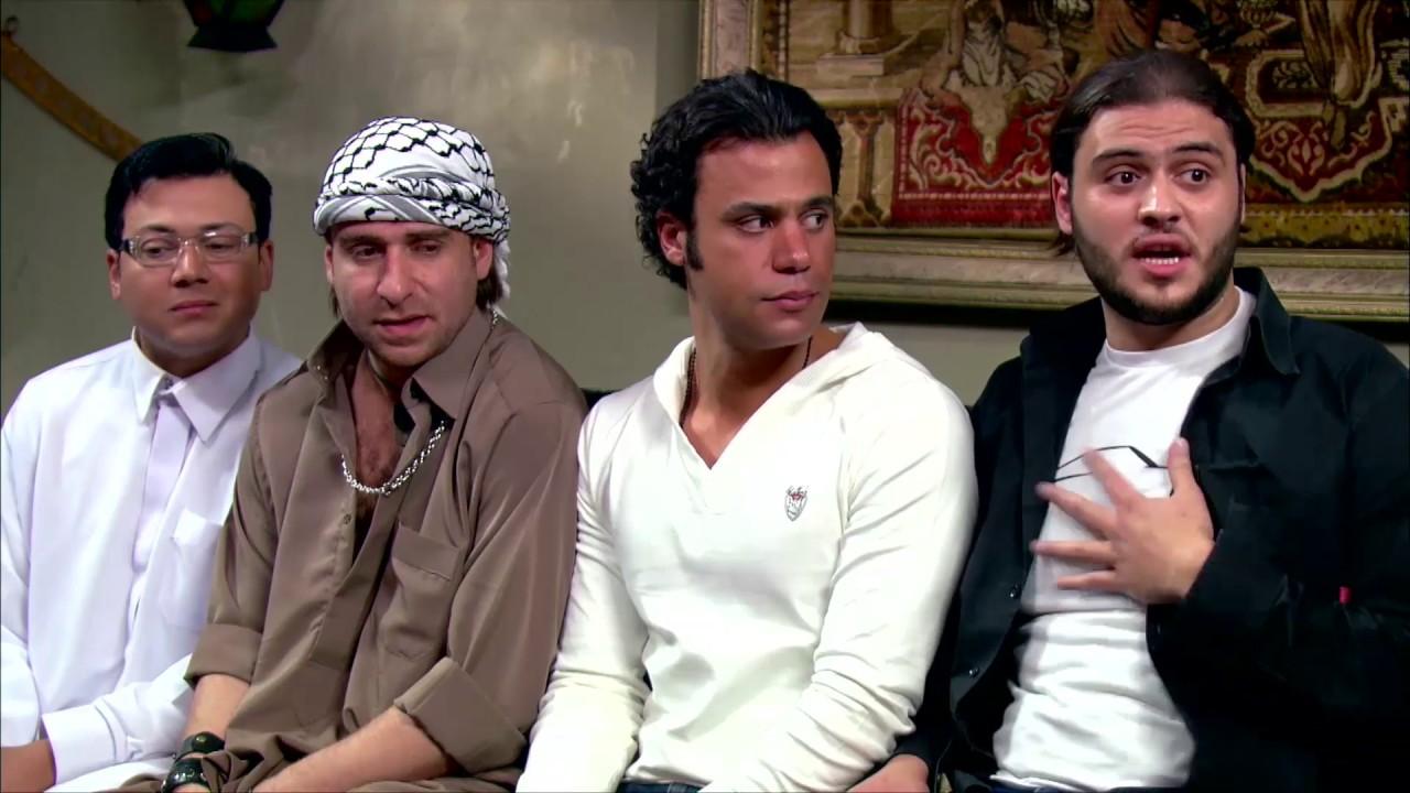 شاهد رد فعل ناجي عطالله لما سمع النكت السخيفة بتاعت ياسر