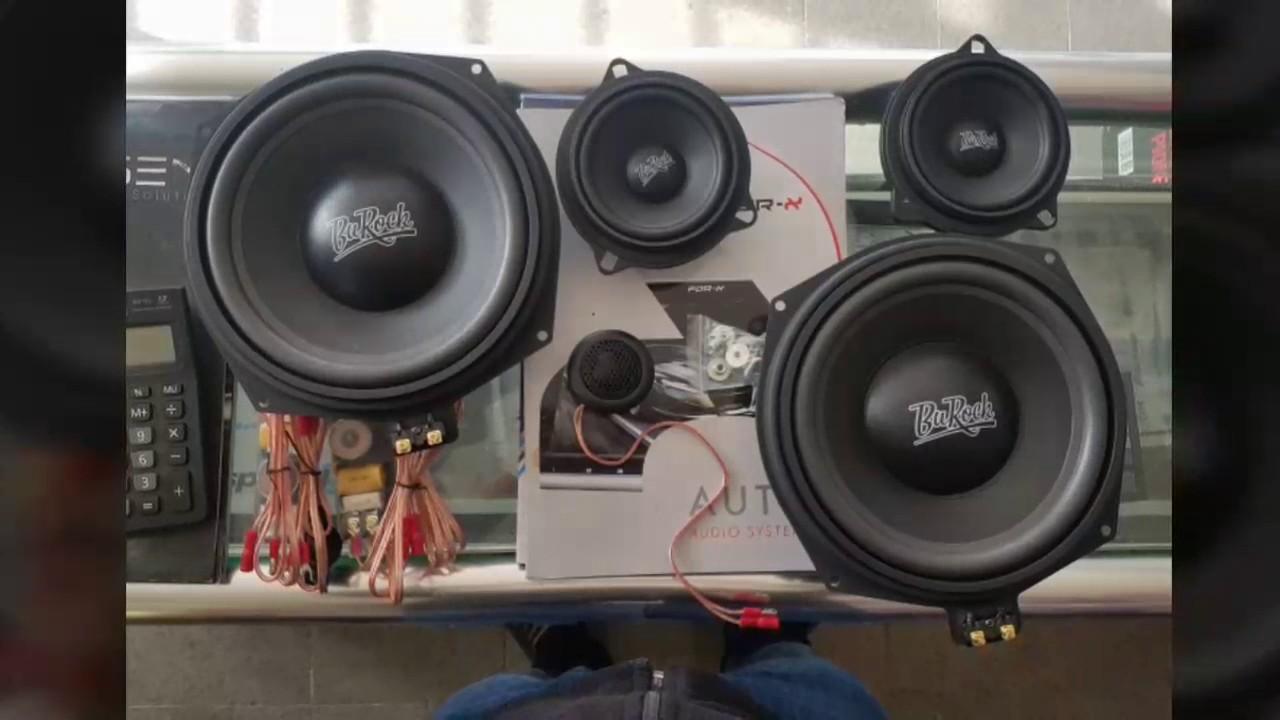 bmw 520d f10 burock ses sistemi - youtube