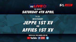 reLIVE 2018: Jeppe Boys' High 1st XV vs Affies 1st XV