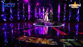 "Rossa Ft. Afgan ""Kamu Yang Ku Tunggu"" - Rising Star Indonesia Best Of 5 Eps 23"