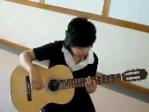 test classical guitar  made in china