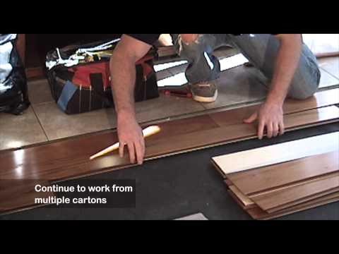 Exotic Engineered Hardwood
