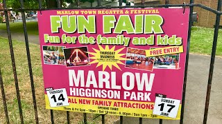 Marlow Fun Fair Vlog 17th June 2018