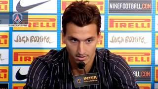 Lui si che tiene alla maglia, Lui è Zlatan Ibrahimovic.