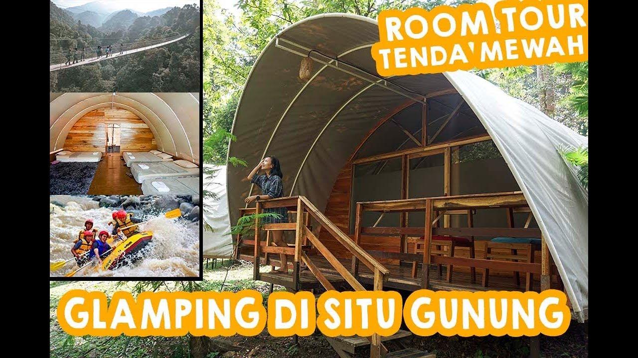Camping Mewah Di Situ Gunung Youtube
