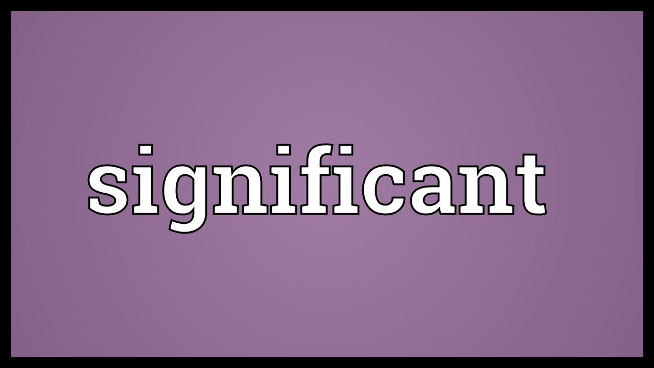 Download Significant Meaning