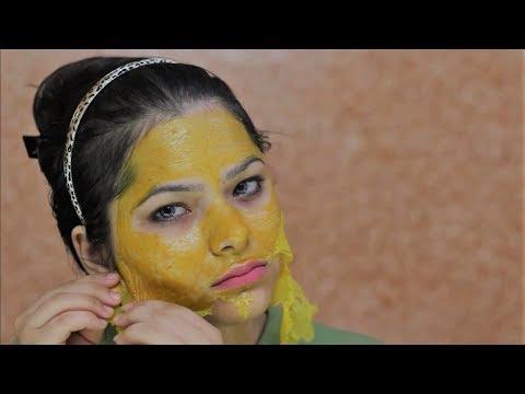 how to make turmeric hair mask