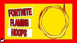 Fortnite Flaming Hoops Locations | Season 6 Fortnite Battle Royale Challenges