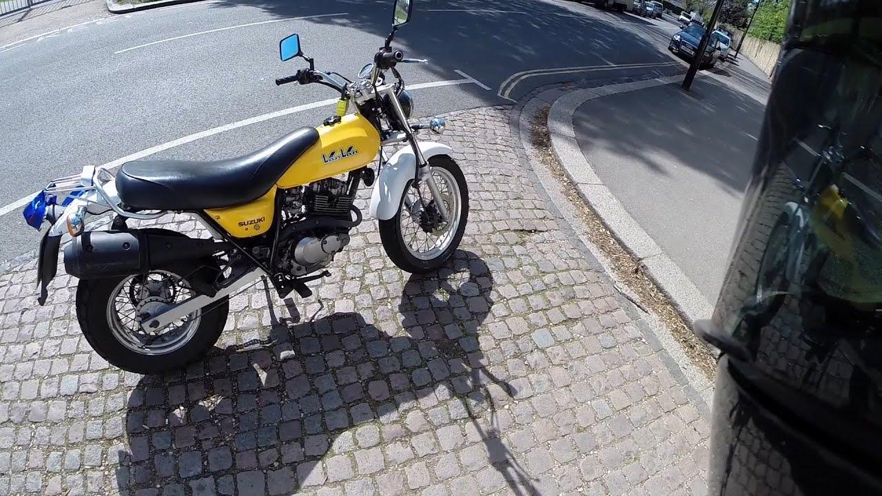 suzuki vanvan 125 ride - youtube