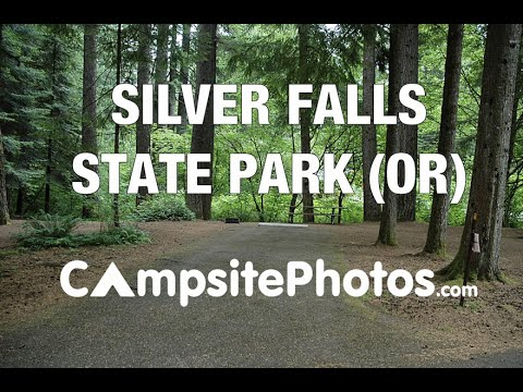 Silver Falls State Park Oregon Map.Silver Falls State Park Oregon Campsite Photos Youtube